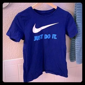 Nike Royal Just Do It Short Sleeve Tee